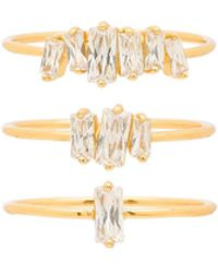 Gorjana - Amara Ring Set - Lyst