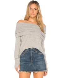 Michael Stars - Convertible Top In Grey - Lyst