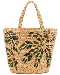 Hat Attack - Painted Palm Tote - Lyst