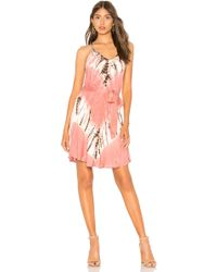 Young Fabulous & Broke - Carla Mini Dress In Blush - Lyst