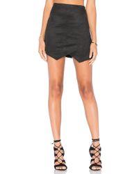 Fifteen Twenty - Crisscross Angled Skirt - Lyst