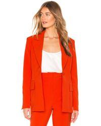 Elliatt - Harper Blazer In Orange - Lyst