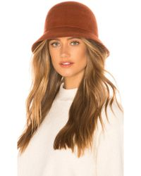 Lyst - 7 For All Mankind Brixton Kayla Cap In Rust in Brown 8ee1242e1874