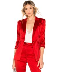MILLY - Fitted Blazer - Lyst