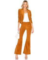 Free People - Heidi Cord Suit Set In Cognac - Lyst