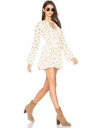 Free People - Tegan Printed Dress - Lyst