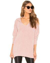Splendid - Aurora Sweater In Blush - Lyst
