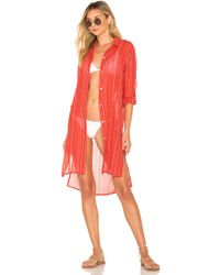 ViX - Ada Chemise In Orange - Lyst