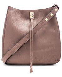 Rebecca Minkoff - Darren Shoulder Bag In Taupe. - Lyst