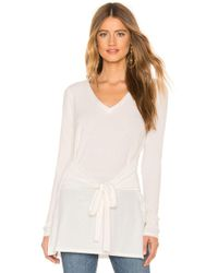 Lamade - X Revolve Elliot Tunic Top In Ivory - Lyst