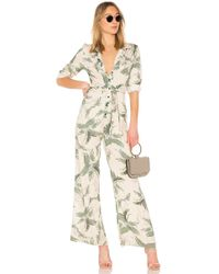 One Teaspoon - Wasteland Jumpsuit In Neutral - Lyst