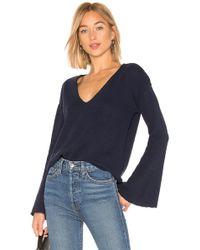 Amuse Society - After Sundown Sweater (dark Navy) Women's Sweater - Lyst