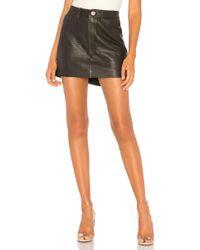 One Teaspoon - Vanguard Leather Skirt - Lyst
