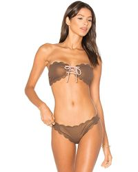 Marysia Swim - Antibes Metallic Tie Top - Lyst