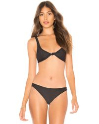125fe996526bf Acacia Swimwear - Spain Top In Black - Lyst