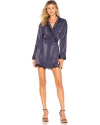 House of Harlow 1960 - X Revolve Cros Dress In Blue - Lyst