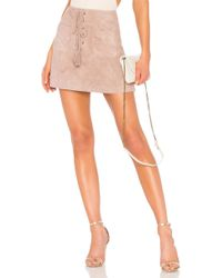 Cupcakes And Cashmere - Marcel Skirt In Mauve - Lyst