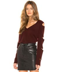 360cashmere - Tyrone Sweater In Wine - Lyst