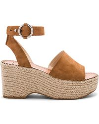 Dolce Vita - Lesly Wedge In Cognac - Lyst
