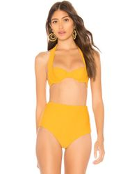 65d3823a39 Lyst - Storm Barbados Bikini Top in Orange