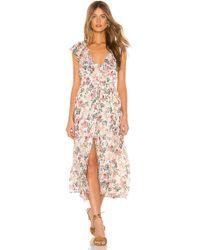 7edd271acf08 Cinq À Sept Naya Off-the-shoulder Bell-sleeve Mini Dress in Black - Lyst