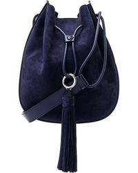 Rebecca Minkoff - Lulu Shoulder Bag In Navy. - Lyst