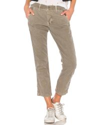 NSF - Edith Pant In Green - Lyst