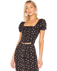 389ff8bb79a Free People The Arianna Embroidered Tunic - Lyst