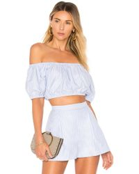 MDS Stripes - X Revolve Off Shoulder Top - Lyst