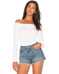 Splendid - Off The Shoulder Bodysuit - Lyst
