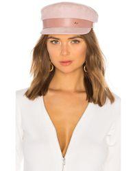 Don - Suede Sailor Cap - Lyst
