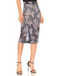 Elliatt - Willow Skirt In Purple - Lyst