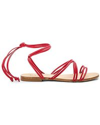 RAYE - Chance Sandal In Red - Lyst