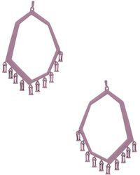 Kendra Scott - Thomas Earrings In Purple. - Lyst
