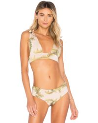Cali Dreaming - Gaia Bikini Top In Beige - Lyst