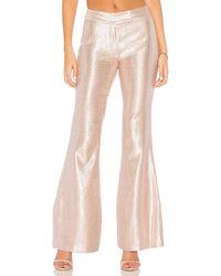 Rachel Zoe - Lauren Sequin Pant In Metallic Neutral - Lyst