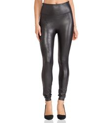 Spanx - Faux Leather Leggings - Lyst