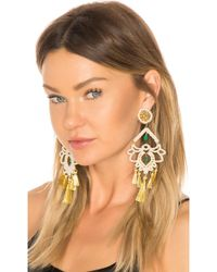 Mercedes Salazar - Fiesta Earring In Metallic Gold. - Lyst