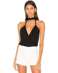 Haute Hippie - Reckless Love Bodysuit - Lyst