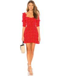 For Love & Lemons - X Revolve Buttoned Mini Dress - Lyst