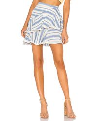 Tularosa - Mara Skirt In Blue - Lyst