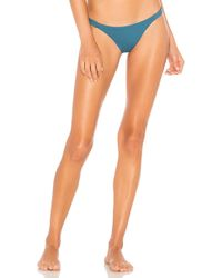 Vitamin A - Carmen Bottom In Teal - Lyst