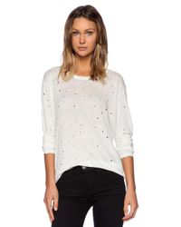 IRO - Marvina Shirt In White - Lyst