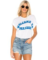 Mikoh Swimwear - Welcome To Paradise Tee - Lyst
