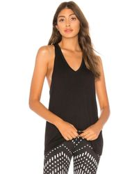 Beyond Yoga - Twisted Racerback Tank In Black - Lyst