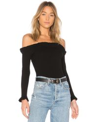 Lovers + Friends - Hudson Bodysuit In Black - Lyst