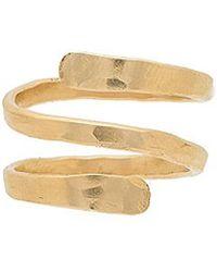 Mimi & Lu - Julia Ring In Gold. - Lyst