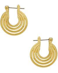 Luv Aj | The Multi Hoop Statement Earrings | Lyst