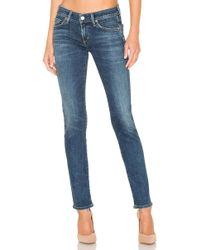 Citizens of Humanity - Racer low rise skinny en color azul - Lyst