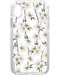 Casetify | White Floral Iphone X Case | Lyst